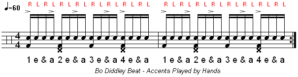 How To Play The Bo Diddley Drum Beat | Learn Drums Now