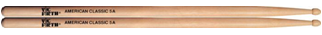 Vic Firth American Classic Hickory Wood Tip 5A Drumsticks